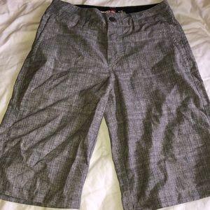 Quiksilver boys surf casual board shorts gray 24/8